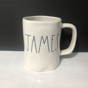Rae Dunn Brand new HAMES mug